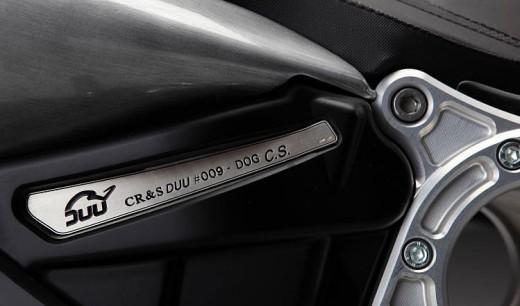 Мотоциклетът CR&S DUU 9