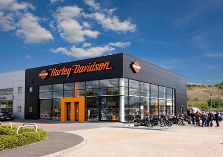 Harley с нова услуга в Обединеното кралство през 2011 година