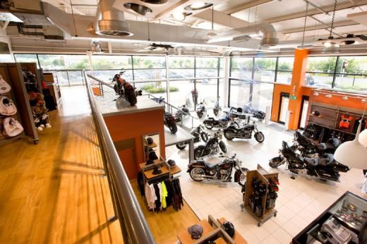 Harley с нова услуга в Обединеното кралство през 2011 година 3