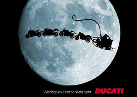 """Ducati ни пожела """"не толкова тиха нощ"""""""
