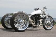 От Harley Softail Evo 1994 г. в Chimera Trike 01