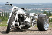 От Harley Softail Evo 1994 г. в Chimera Trike 02