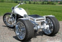 От Harley Softail Evo 1994 г. в Chimera Trike 03