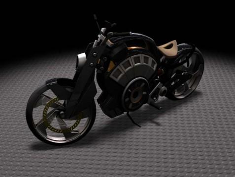 Blitz - електрически байк с вид на Harley 1