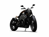 Blitz - електрически байк с вид на Harley 4