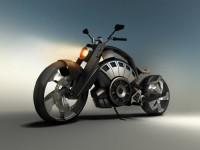 Blitz - електрически байк с вид на Harley 7