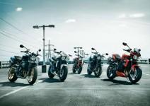 Топ 5: мотоциклети със средно тегло
