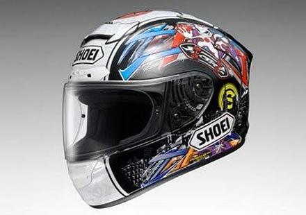 Shoei X-Spirit II – каска на Томизава
