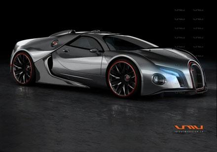 Новото поколение Bugatti Veyron ще равива 435 км/ч