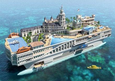 Супер яхтата The Street of Monaco