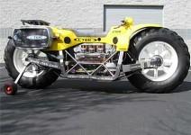 Голямата стъпка – най-високият мотоциклет в света