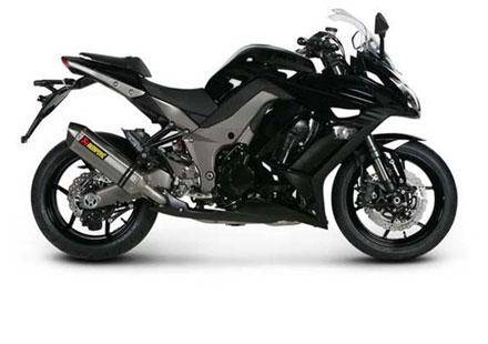 Akrapovic с нов ауспух за Kawasaki Z1000