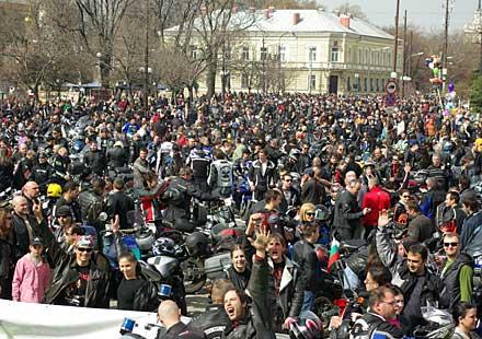 Сбирка за мото сезон 2011 в София