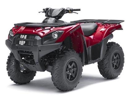 Kawasaki пуска брутални ATV-та