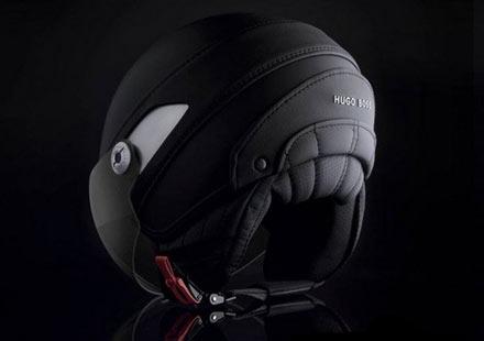 На върха на модата с каска Hugo Boss