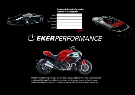 Бард Екер работи върху нов мотоциклет