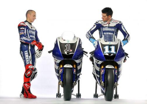 Новите състезателни мотори на Yahama за новия GP сезон 07