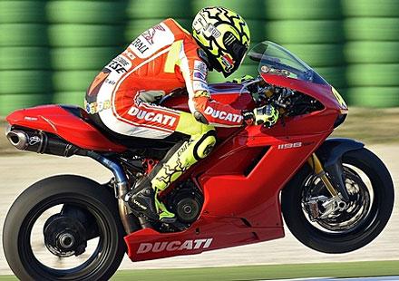 Доктора разочарован от Ducati