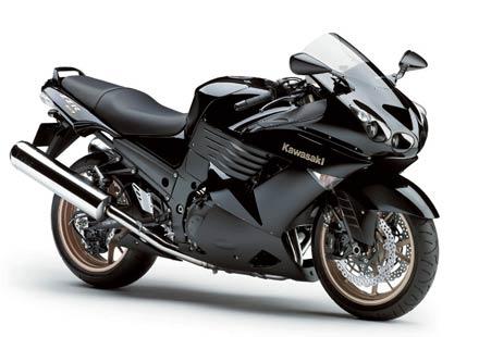Красавецът Kawasaki ZZR1400