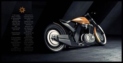Модерен ретро мотоциклет от Естония 04