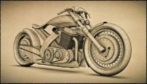 Модерен ретро мотоциклет от Естония 05