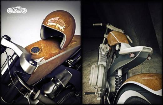 Модерен ретро мотоциклет от Естония 06