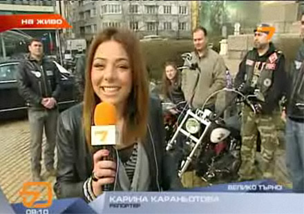 Откриването на мото сезон 2011 в ефира на TV7