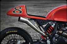 От супермото в Кафе рейсър - KTM 525 EXC Café Moto 05