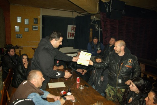 Какво се случи на неделната сбирка на софийските мото клубове