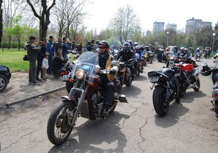 Снимки от откриването на мото сезона в Бургас