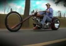 Чопър без джанти - истински Monster Bike