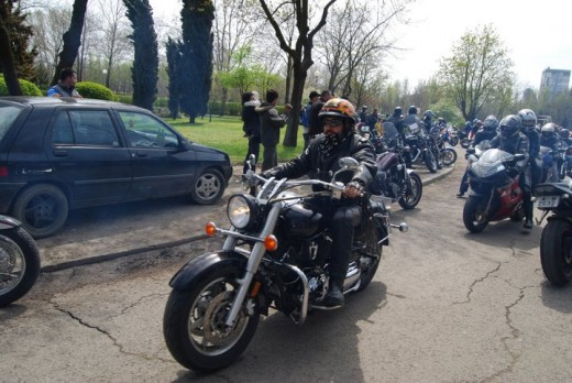 Снимки от откриването на мото сезона в Бургас 03