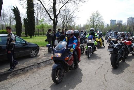 Снимки от откриването на мото сезона в Бургас 15