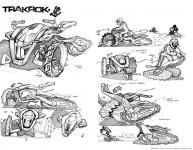 3 в 1 - концепция от Алексей Михайлов за дърт байк, ATV и снегомобил 04