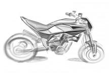 Скици на шосейния 900 кубиков нейкид мотор на Husqvarna 03