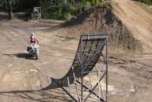 Първият опит за задно слато с Harley-Davidson Road King 02