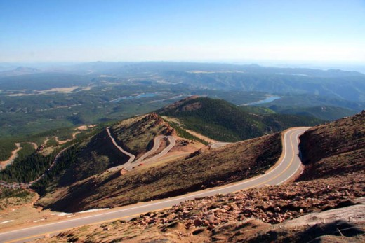 Електрически мотор постави нов рекорд на Pikes Peak 01