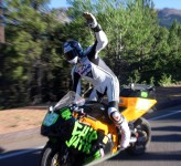 Електрически мотор постави нов рекорд на Pikes Peak 03