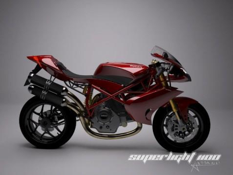 Концепцията Ducati Superlight 1100 01