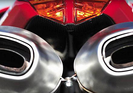 Безплатни рингтонове на ауспуха на Ducati