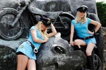 Падок момичетата на MotoGP Бареслона 2011 04