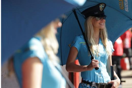 Падок момичетата на MotoGP Бареслона 2011 20