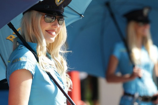 Падок момичетата на MotoGP Бареслона 2011 21