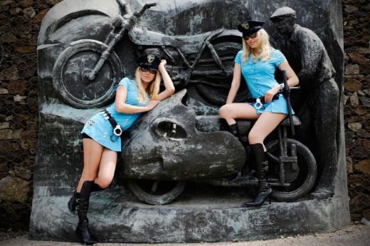Падок момичетата на MotoGP Бареслона 2011 26
