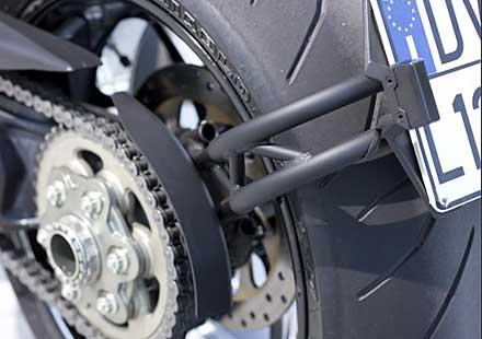 Проблем с поставката за регистрационен номер на Ducati Diavel. Проверете я!