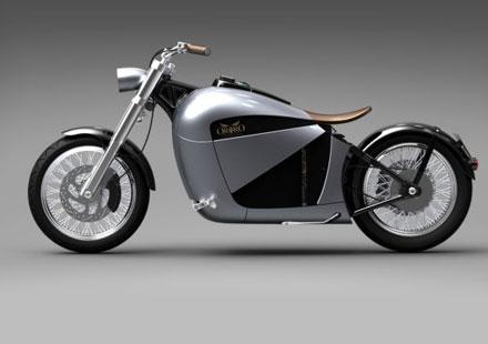 Orphiro – концепция за електрически круизър мотоциклет