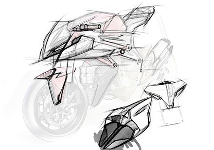 Скици на 2012 Ducati Streetfighter