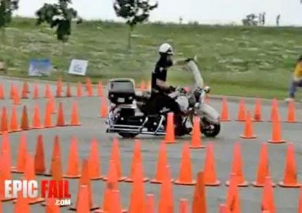 Лудото ченге – нереални умения с мотор