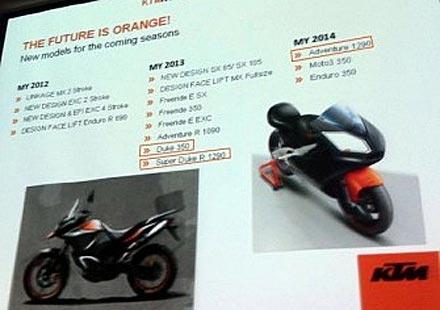 Разкриха бъдещите модели на мотоциклетите KTM