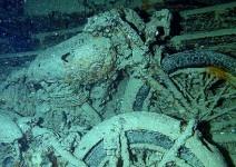 Класически мотоциклети от Втората световна война - изгубени в морето